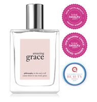 philosophy, amazing grace spray fragrance, with award stickersglobal.image