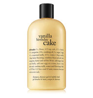 philosophy, vanilla birthday cake shower gelglobal.image