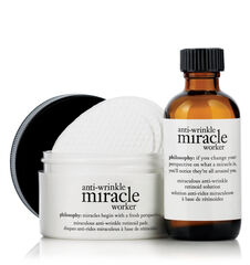 ultimate miracle worker multi-rejuvenating retinol+superfood oil and pads