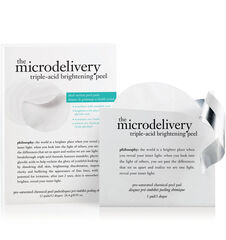the microdelivery triple acid brightening peel <br/> pre- saturated chemical peel pads