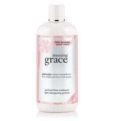 amazing grace 20th birthday perfumed hair conditioner