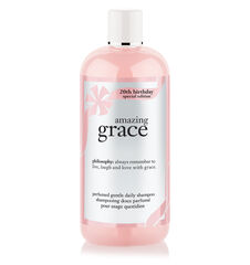 amazing grace 20th birthday perfumed gentle daily shampoo