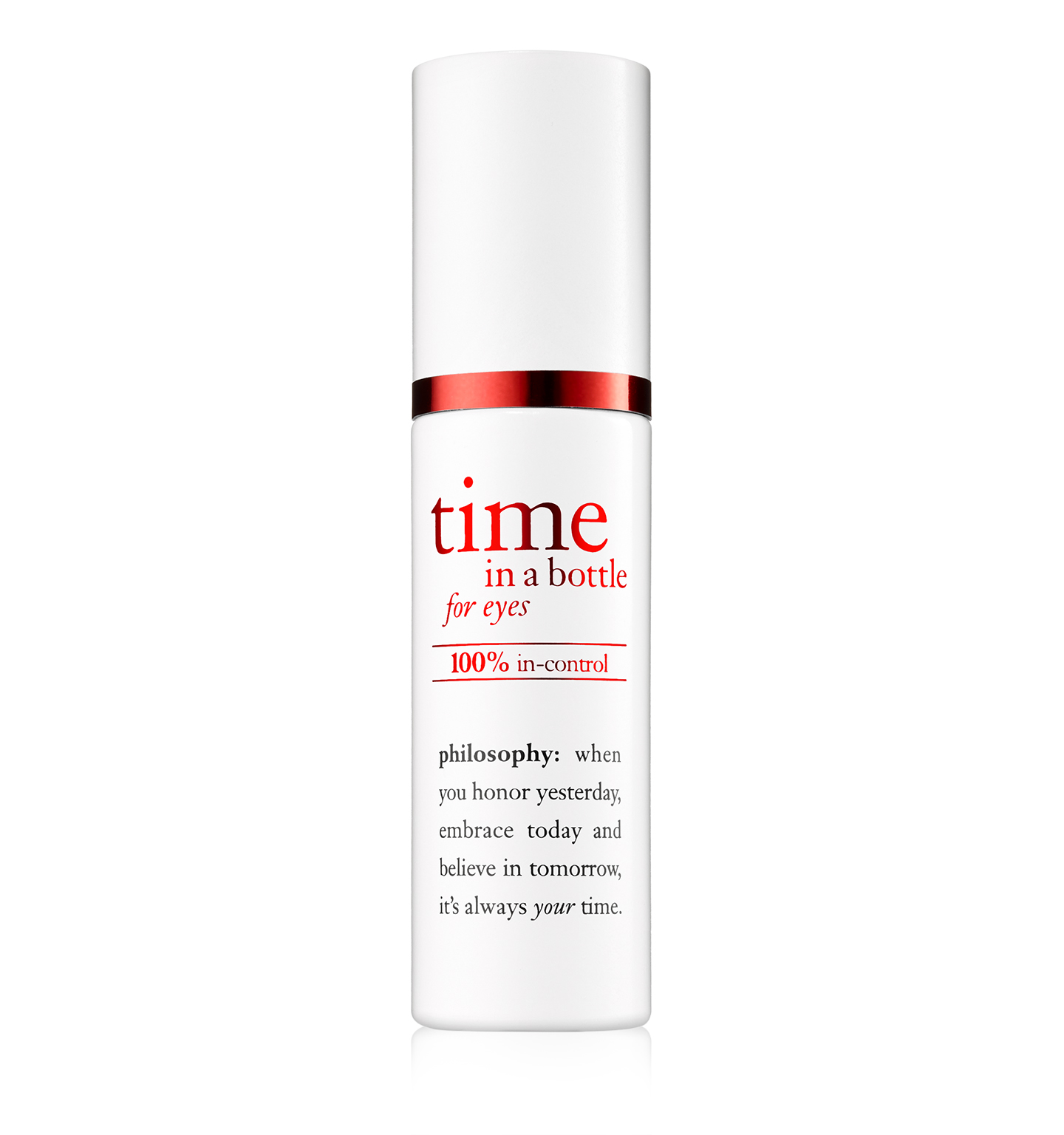 philosophy, time in a bottle eye serum
