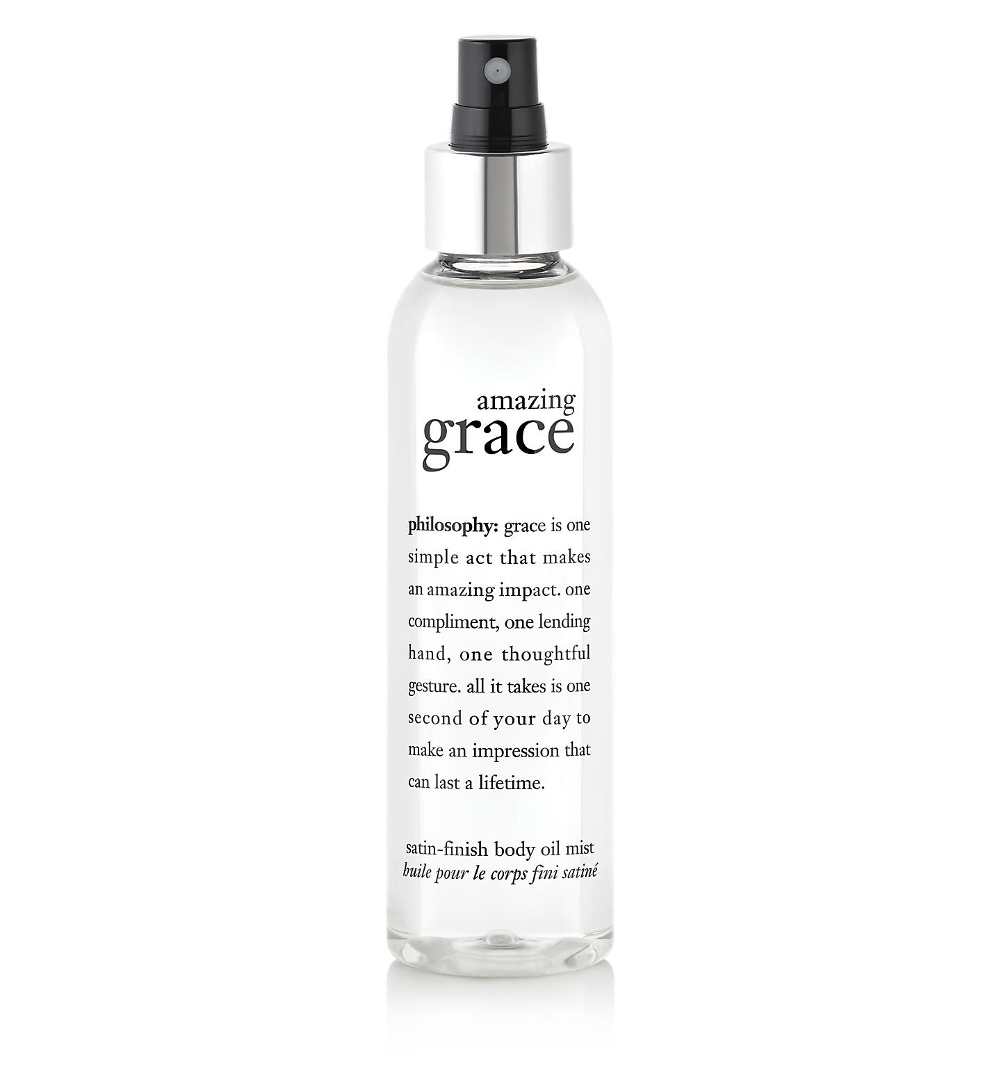 philosophy, amazing grace body oil mist